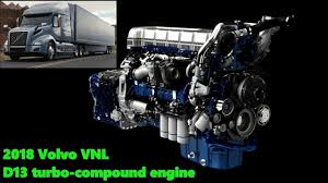 2018 volvo engines. beautiful 2018 the new 2018 volvo vnl d13 turbo compound engine intended volvo engines