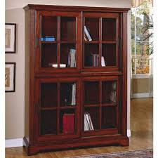 Deluxe Glass Door Bookcase