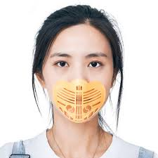<b>3D Facemask Inner</b> Support Frame Washable PP Mouth Mask ...
