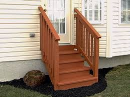 prefab wooden steps for outside prefab stairs outdoor wood steps