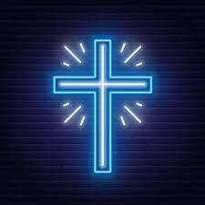 Christian Church Cross LED Neon Sign ...