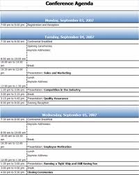 Templates For Meeting Agenda Conference Agenda Template Agenda Templates Ready Made Office