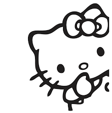 Hello Kitty Silence Shh decal vinyl sticker sticker - Hello Kitty -  decalsmania.com - Your sticker shop for your car, jdm, racing