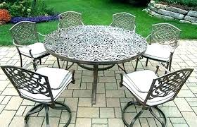 round patio tables best interior design wrought iron patio table 48 wrought iron round patio table