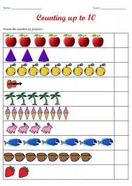 Kindergarten Kindergarten Worksheets: Counting Worksheets Count The ...