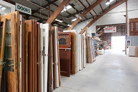lots of doors of all types and styles