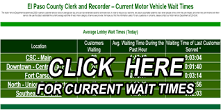 motor vehicle wait times