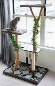 diy outdoor cat tree house 9 diy cat tree plans you can get for free