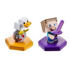 Набор из двух <b>мини</b>-<b>фигурок</b> Minecraft с <b>NFC</b>-<b>чипом</b>, в ...