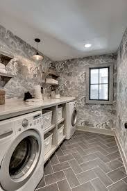 80 Beautiful Laundry Room Tile Pattern Ideas