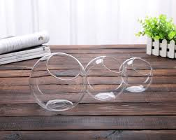 Decorative Clear Glass Bowls Aliexpress Buy 60 New Clear Glass Bowl Vase Fish Tank 14