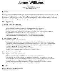 Dental Assistant Resume Templates Dental Assistant Resume Sample Tips Resume Genius Work Resume 9023