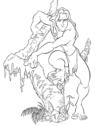 Small Picture Beautiful Tarzan Coloring Pages 62 In Free Coloring Book with