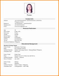 Sample Resume Philippines Resume Online Builder
