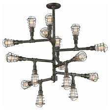 rustic industrial lighting. rustic industrial lighting chandeliers