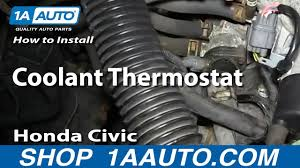 how to install replace coolant thermostat 1992 1998 honda civic 1 6l how to install replace coolant thermostat 1992 1998 honda civic 1 6l