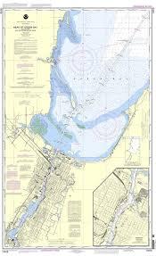 Green Bay Depth Chart Noaa Nautical Chart 14918 Head Of Green Bay Including Fox
