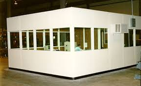 Image Inplant Office Solid Wall Panels 3070 3 7 34 Avanti Systems Usa Inplant Office Inplant Offices Partition Wall Systems