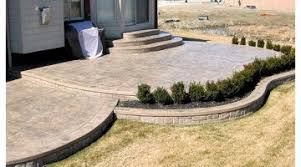 incredible concrete patio design pictures stamped concrete patios