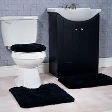 lavish home 3 piece super plush non slip bath mat rug set