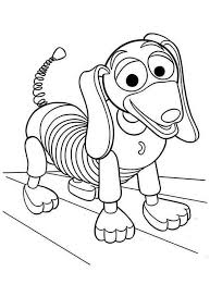 Small Picture Meet Slinky Dog in Toy Story Coloring Page Download Print