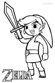 Free printable zelda coloring pages for kids. Pin On Coloring