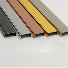 stainless steel trim profile decorative strips corner guards inlay for wall and floor