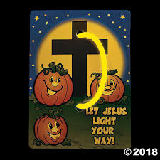 Christian Pumpkin Designs Christian Pumpkin Glow Bracelets With Card In 2019 Glow