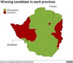 Presidental Election Results Zimbabwe Election Opposition Calls Poll Results A Coup Bbc News
