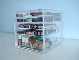 Amazon.com: ACRYLIC MAKEUP COSMETICS ORGANIZER 5 DRAWER BEAUTY CUBE STORAGE  CASE (Acrylic Knobs (Handles)): Beauty