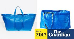 Flat-pack fashion: Ikea takes swipe at Balenciaga's $2,150 <b>shopping</b> ...