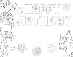 Trolls Movie Coloring Pages Smidge Page Online Betterfor