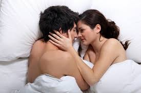 Lovely Couple In Bed Lying In Bedroom 13 Quick Tips To Improve Your Sex Life Onedioco