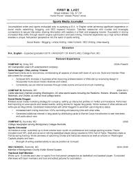 Sample College Resumes Resume Templates