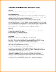 Resume Healthcare Objectives Free Sample For Resumes Objective