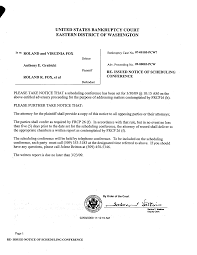 Index Of Cc Fox2 Notice Of Scheduling Conference 2009 02 09