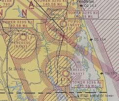 Virginia Aeronautical Chart Abandoned Little Known Airfields Virginia Virginia Beach
