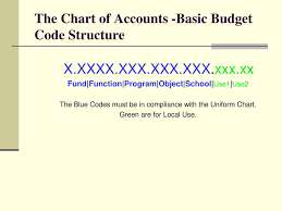 Chart Of Accounts Code Structure Chart Of Accounts Overview Ppt Download
