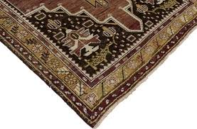 consigned vintage turkish oushak accent rug entry or foyer rug 4 x6 8 mediterranean area rugs by esmaili rugs and antiques inc