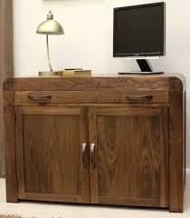 walnut office furniture. perfect inspiration on hidden home office furniture 2 ideas baumhaus shiro walnut small
