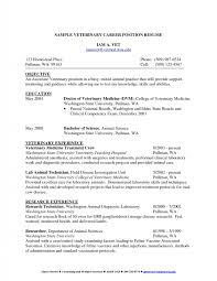 New Lab Tech Resume Resume Templates
