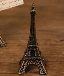 Eiffel Tower Decoration Decorating Ideas Endearing Image Of Silver Metallic Eiffel Tower