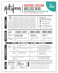 Graphic Designer Resume. #infografia #curriculum #empleo Https ...