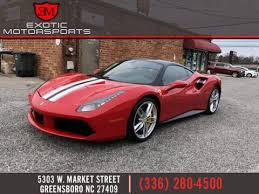 Save $62,912 on a used ferrari 488 near you. Ferrari 488 Gtb For Sale In Greensboro Nc Exotic Motorsports
