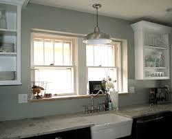 hanging lights over kitchen sink