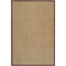 natural fiber blue purple 9 ft x 12 ft area rug
