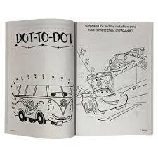 送料込 カーズ ぬりえ 13770 輸入品 インポート Disney ディズニー ぬり絵 英語 知育玩具 海外 男の子 車 乗り物