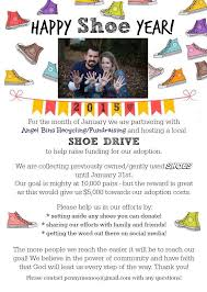 Shoe Drive Flyer Template Shoe Fundraiser Flyer Coppell High School Band To Hold Shoe