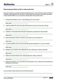 Grammar Sentences Worksheet Worksheets for all | Download and ...