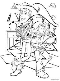 Small Picture Disney Toy Story Woody and Buzz coloring page Images to COLOR